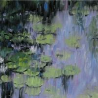 Reflections I Lilypads