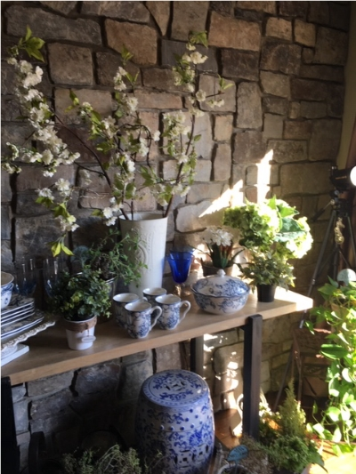 Creating a Spring Garden Display in your home