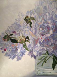 Intoxicating - original floral oil paintings peonies