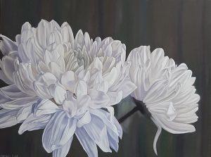 Duet - Original oil floral painting