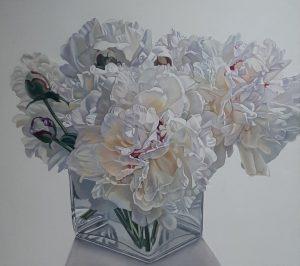 Peony painting peony floral art flowers peonies oil painting